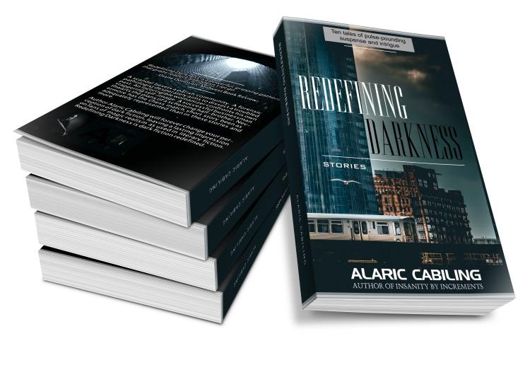 3D cover Redefining Darkness Paperback Promo Image