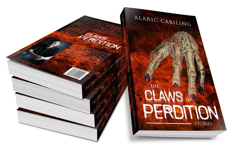 3D cover The Claws of Perdition Paperback Promo Image 2